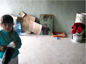 "Foto de Gema, una de las ""Flores del Rancho"", Tijuana, 2010."
