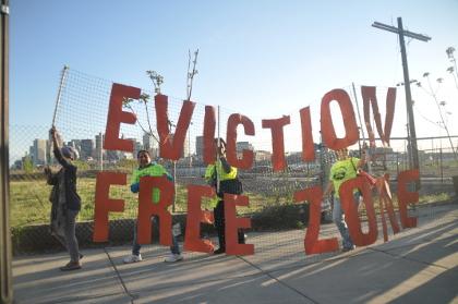 Eviction free zonePK