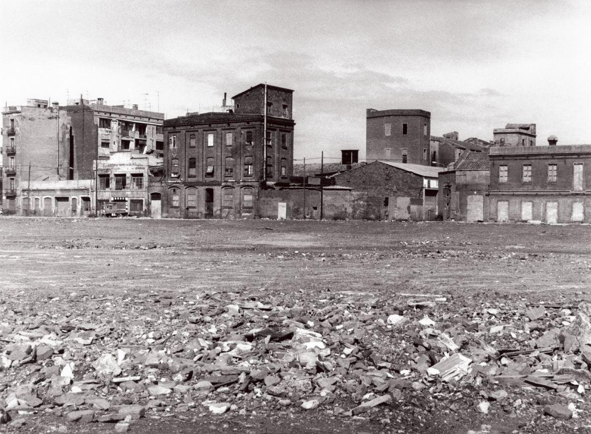 También había viviendas, entre los edificios demolidos para construir la Vila Olímpica