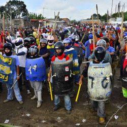 Resistencia en Pinheirinho (Sao Paulo, Brasil)