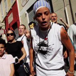 """Keny Arkana, cuyo tema """"Marseille capitale de la rupture"""" cuestióna el gran evento de 2013."""
