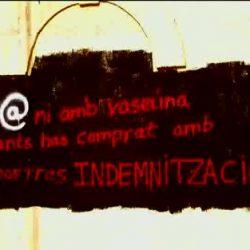 Grafiti en el interior del recinto, 2007.