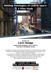 INCONTRO con LARRY KNOPP_LOCANDINA